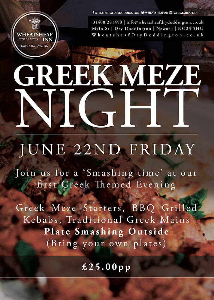 Greek Meze Night